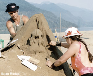 Harrison Hot Springs Sand Sculpture Tournament of Champions