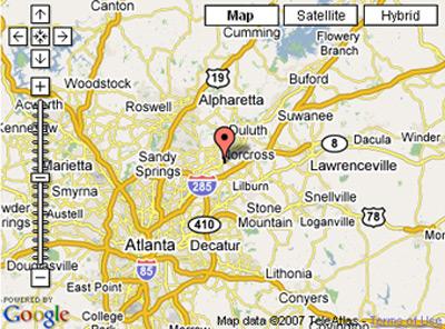 Google map via IP address
