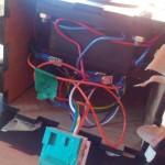 Joy stick wiring