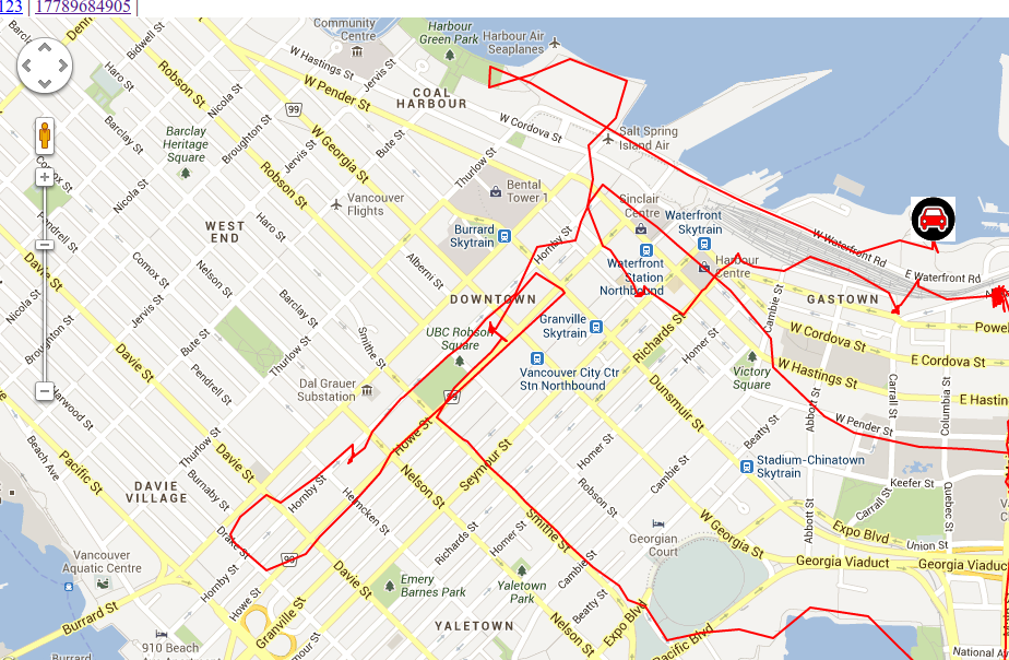 GeoGramOne - GPS tracker to Google maps - A Blue Star